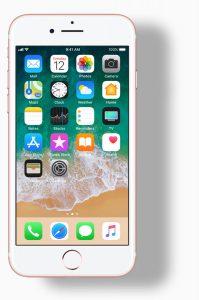 sticla iphone 7